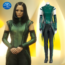 MANLUYUNXIAO Guardians of The Galaxy 2 Cosplay Costume Mantis Cosplay Costume Women Full Set Mantis Costume For Halloween цены