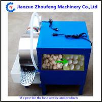 hot sale good quality cheap 2000pcs/h chicken duck goose egg washing machine washer eggs cleaning equipment