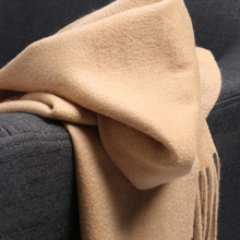 Cashmere Wool Scarf Women Soft Warm Natural Fabric Camel Sky Blue Gray Thick scarf winter High Quality 6-20days Free Shipping