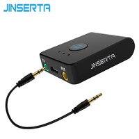 JINSERTA 2017 Bluetooth Zender Bluetooth Ontvanger Muziek Stereo Audio Adapter voor Tablet PC Laptop TV Mobiel Speaker