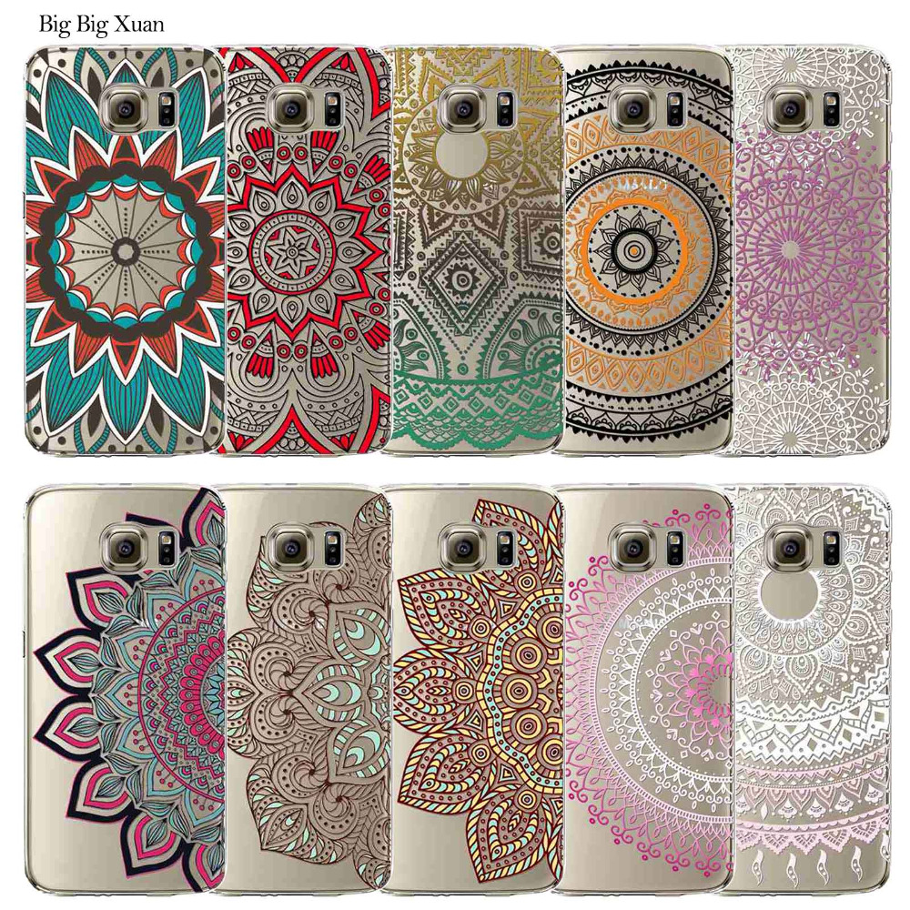 coque samsung galaxy s6 edge mandala