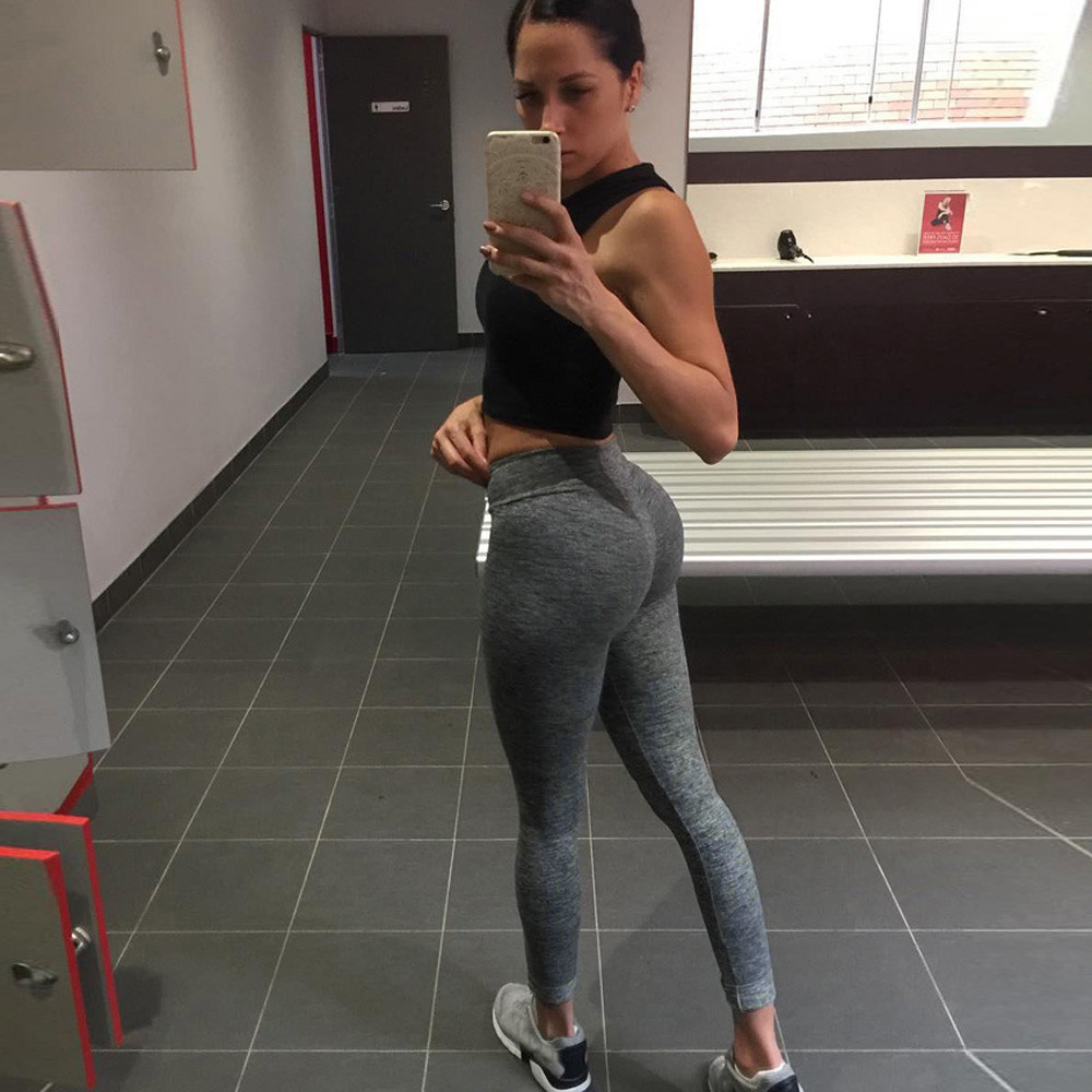Women's Workout Leggings Fitness Gym Run Athletic Pants Female Sportswear flexible track Solid sports trousers Sweatpants