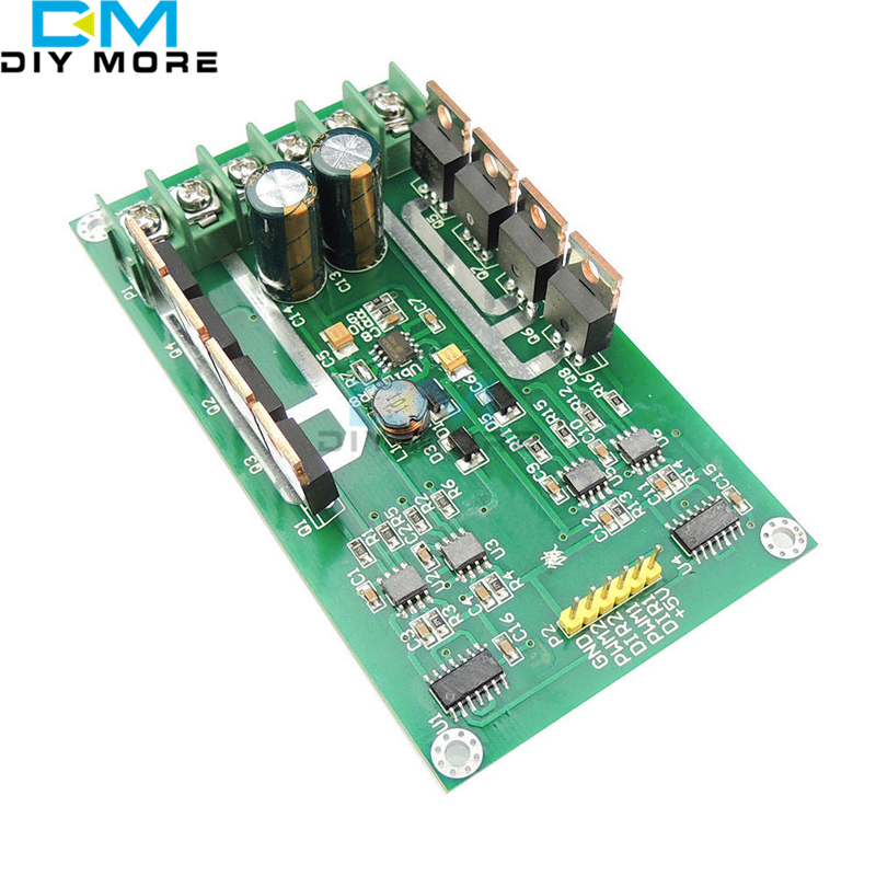 Dual Motor Driver Module Board H-Bridge DC MOSFET IRF3205 3-36V 10A Peak 30A dual mc33886 motor driver board dc 5v 2a for smart car raspberry pi a b 2b 3b