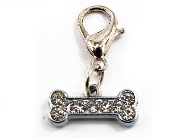 Mascotas Perros gatos de diamantes colgantes de moda ido patrón encanto producto