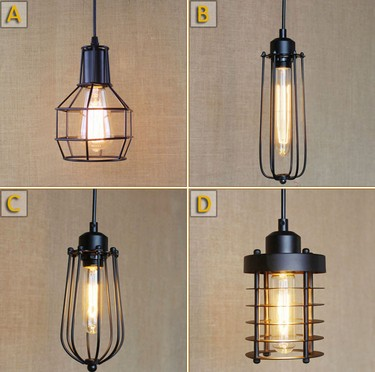 Nordic Loft Iron Art Pendant Lights Industrial Vintage Lighting For Dining Room Bar Hanging Lamp Lamparas Colgantes loft style vintage pendant lamp iron industrial retro pendant lamps restaurant bar counter hanging chandeliers cafe room