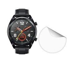 3pcs רך ברור מגן סרט משמר הגנה עבור Huawei שעון GT פעיל ספורט Smartwatch מסך מגן כיסוי (לא זכוכית)