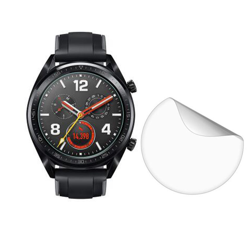 3pcs Soft Clear Protective Film Guard Protection For Huawei Watch GT Active Sport Smartwatch Screen Protector Cover (Not Glass)