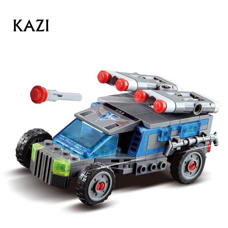 Kazi 152pcs Action & Toy Figures Building Blocks Red Alert ...