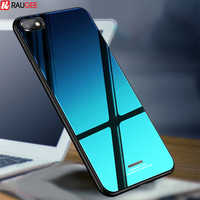 Glass Case For Xiaomi Redmi 6A Case Luxury Cover Tempered Glass Silicone Frame Hybrid Hard Back Cover On For Redmi 6A Cases