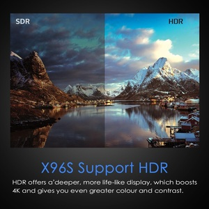 Image 2 - أندرويد 9.0 جهاز استقبال للتليفزيون X96S 4GB 32GB Amlogic S905Y2 رباعية النواة 4K 2.4G & 5GHz ثنائي واي فاي بلوتوث 4.2 1080P H.265 جهاز استقبال للتليفزيون أندرويد