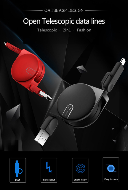 Przewód USB typu C do szybkiego ładowania ładowarki Samsung S8 S9 do Huawei P20 Pro Xiaomi mi 5 6 a1 telefon komórkowy USB Przewód 100cm tanie i dobre opinie BlackBerry LG Palm Toshiba Samsung HTC Panasonic Apple iPhones Nokia SONY Motorola Reversible Retractable 2 in 1
