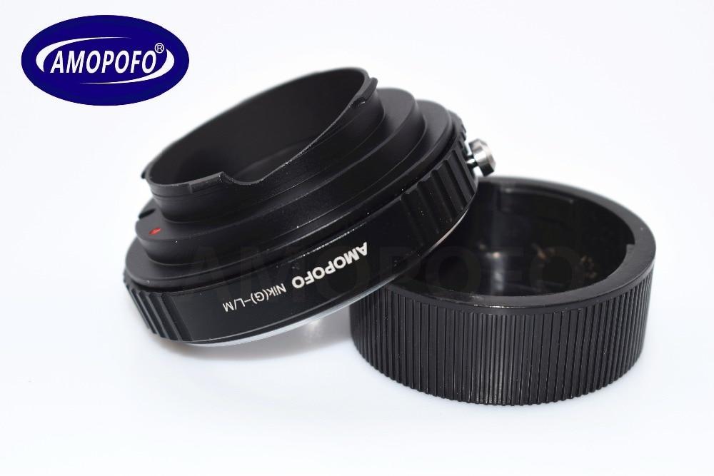 Adapter N / G-LM për Nikon G AI A F Lente për Leica M L / M M9 M8 - Kamera dhe foto - Foto 2
