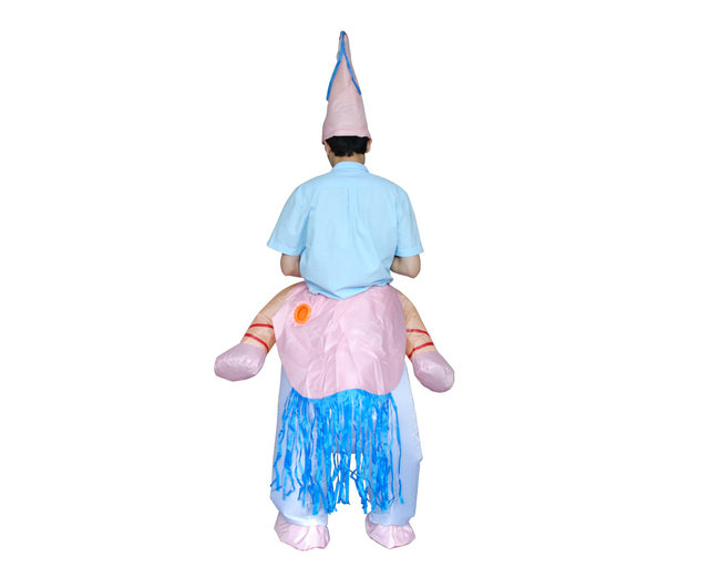 Adult UNICORN Inflatable Costume for Purim Party Christmas Xmas Funny Small Fan Blowing Suits Carnival Costumes  sc 1 st  Aliexpress & Online Shop Adult UNICORN Inflatable Costume for Purim Party ...