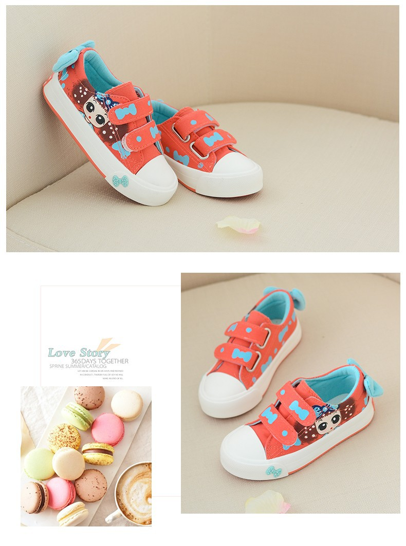 Canvas Children Shoes 17 New Baby Girls Princess Shoes Brand Kids Sneakers for Girls Denim Child Flat Toddler Shoes 13