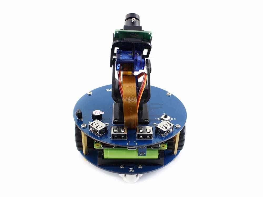 AlphaBot2 робот строительный комплект для Raspberry Pi Zero/Zero W (no Pi) + Ультразвуковой датчик + RPi камера (B) + Pi Zero V1.3 кабель для камеры