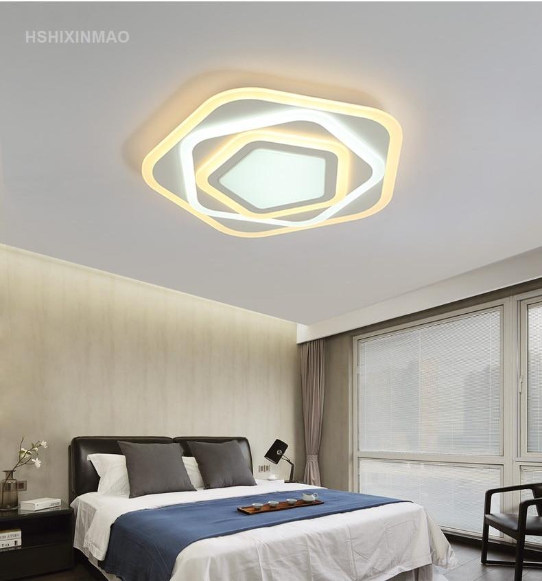led bedroom light ultra thin acrylic modern ceiling lamp