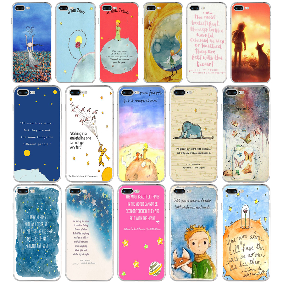 Items Similar To The Little Prince Quote Inspirational: 148AQ The Little Prince Inspirational Quote Soft TPU