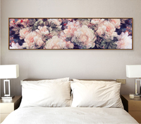 New Full Diamond Painting Pink Peony Pattern Decorative Painting Rhinestone Handmade Mosaic Flowers Diy Diamond Embroidery