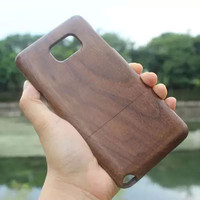 High Quality Wood Bamboo Case For Samsung Galaxy Note 5 Note5 Novelty Phone Case Cover For