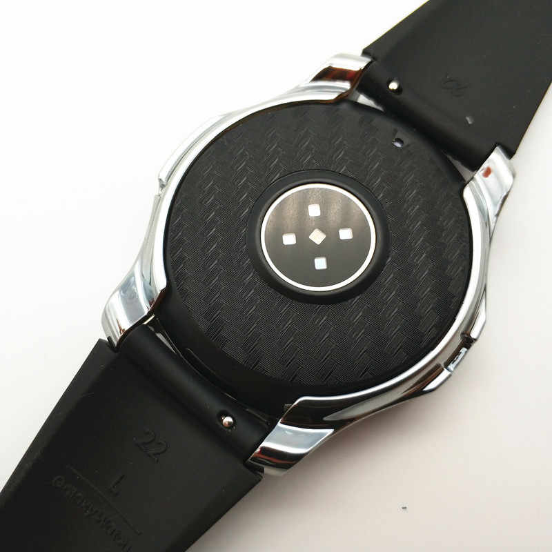 Для Galaxy Watch 46 мм Полная закаленная стеклянная пленка + пленка из углеродного волокна для samsung Galaxy Watch экран защитный приятный с вами ремешок