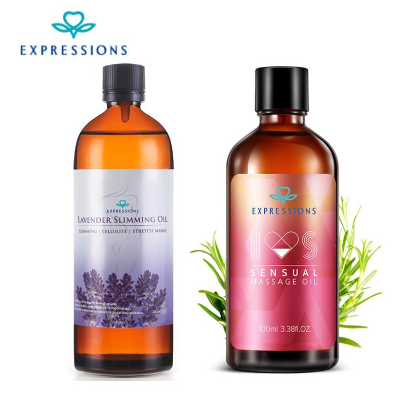 200ml Slimming Massage Oil Australia 100% Fragrance Lavender Oil Diffuser Essential Oil Aromatherapy Sexual Essential Oils 100ml
