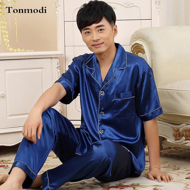 Popular Silk Pajamas for Men-Buy Cheap Silk Pajamas for Men lots ...