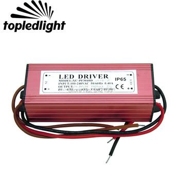Transformatory oświetleniowe 30 W-50 W LED sterownik IP67 wodoodporny 30-48 V 1000MA zasilacz do wysokiej dioda LED zasilania lampy oprawy oświetleniowe tanie i dobre opinie Aluminum Alloy 100-240V Brak 1 Year 30-48V Waterproof