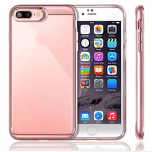 For iPhone 7 Plus Case Transparent Cover [Crystal Serie ] [Slim Cushion] Soft TPU Protective Air-Cushion for iPhone 7 Plus Case