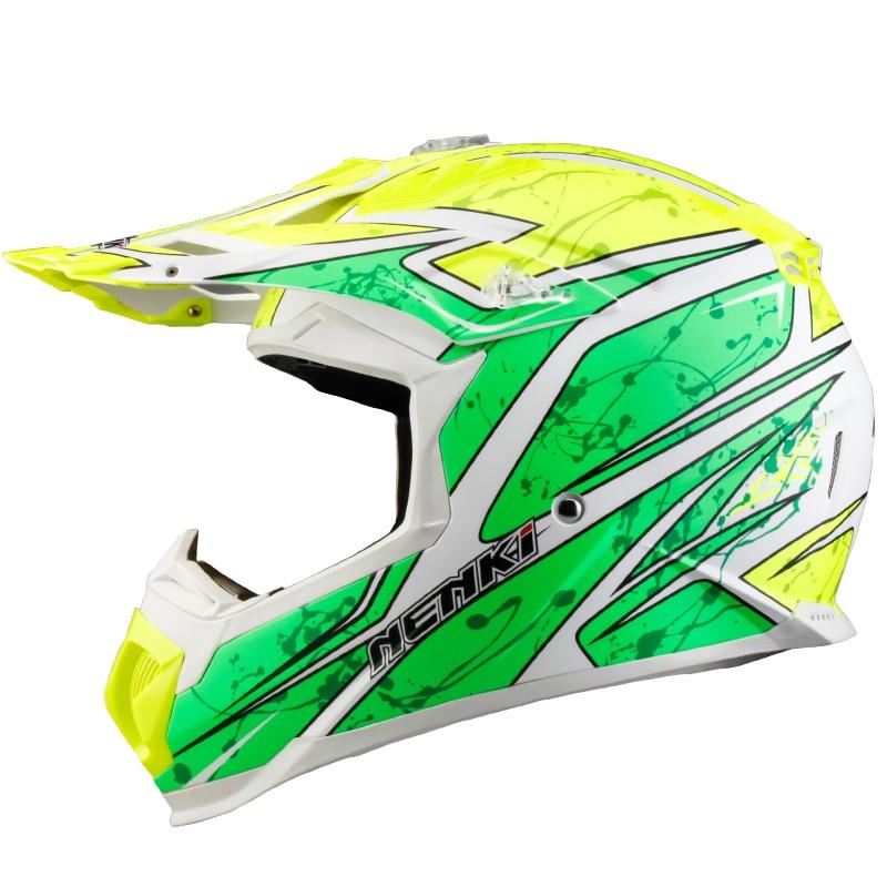 Motocross Helmet NENKI MX315 ATV Dirt Bike Off Road Rally Racing Capacete Casco Casque Kask Motorcycle Helmets EU Standard ECE стоимость