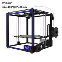 Бесплатная tronxy X5S 400 3D принтеры большой размер 400*400*400 мм heatbed высокая точность 3d печати