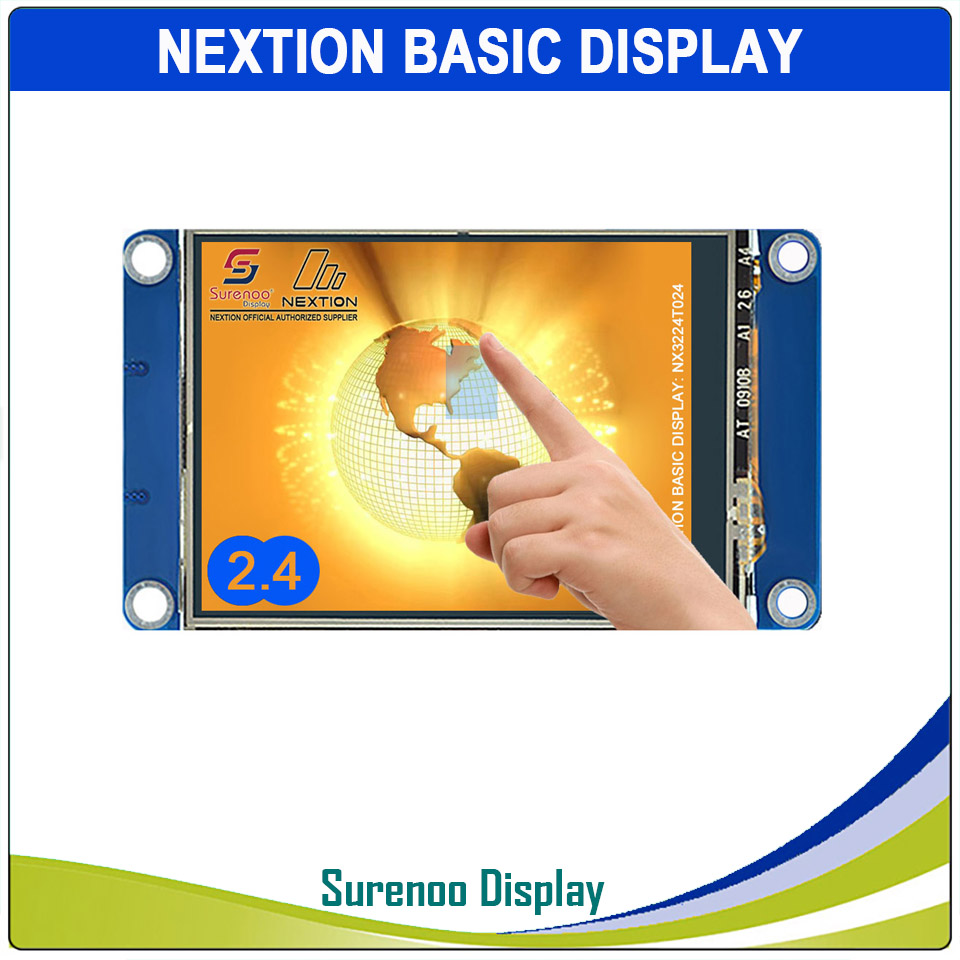 """2.4"""" NX3224T024 Nextion Basic HMI Smart USART UART Serial Resistive Touch TFT LCD Module Display Panel for Arduino RaspBerry Pi-in LCD Modules from Electronic Components & Supplies"""