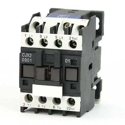 цена на CJX2-0901 AC Contactor 380V 50/60Hz Coil 9A 3-Phase 3-Pole 1NC