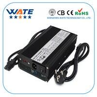 14 6 V 23A зарядное устройство 4S 14 4 V LiFePO4 батарея Смарт зарядное устройство алюминиевый корпус с вентилятором высокой мощности с вентилятором а...