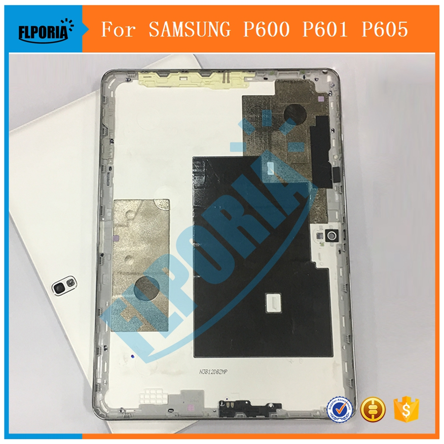 FLPORIA New 1PC For <font><b>SAMSUNG</b></font> Galaxy <font><b>Note</b></font> <font><b>10.1</b></font> <font><b>2014</b></font> <font><b>Edition</b></font> P600 P601 P605 SM-P600 SM-P601 SM-P605 Back <font><b>Battery</b></font> Cover Housing Case image