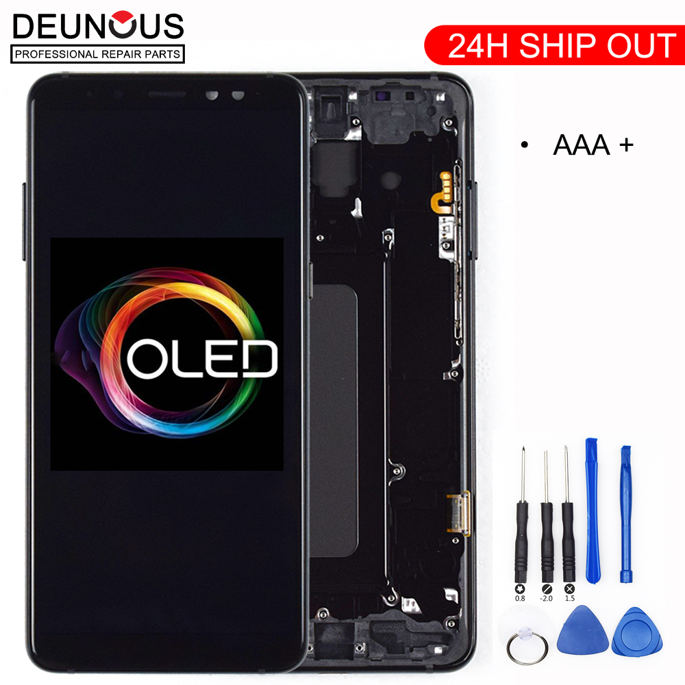 100% ORIGINAL AMOLED Display LCD For SAMSUNG Galaxy A8 Plus 2018 A730 LCD Display Touch Screen Digitizer Replacement Can adjust100% ORIGINAL AMOLED Display LCD For SAMSUNG Galaxy A8 Plus 2018 A730 LCD Display Touch Screen Digitizer Replacement Can adjust