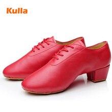 Middle Heels Women Latin Dance Shoes Adult/Childs Modern Ballroom Tango Dancing Shoes Soft Sole Size 24-40 Jazz Dance Shoes Kids цены онлайн