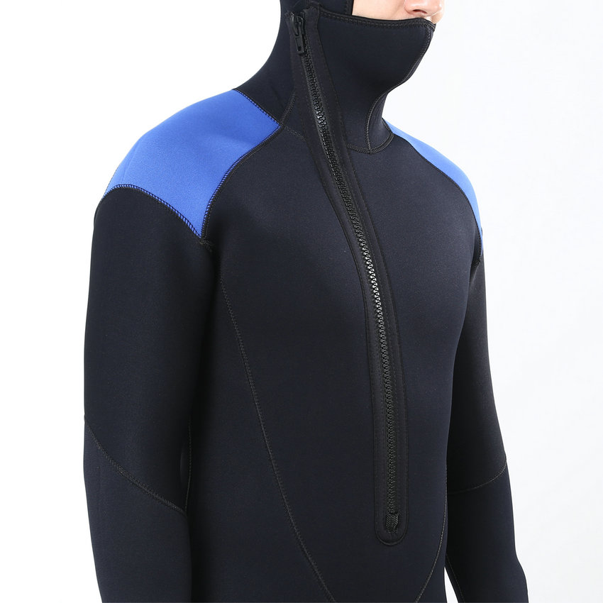Realon Spearfishing 5MM Neoprene Wetsuit Men with Hoodies Scuba - Sportswear and Accessories - Photo 6