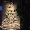 10 M 50 LEDs Luz Da Corda LED do feriado do Natal luzes da corda para a Decoração Home/Casamento/Aniversário/Feriado/Decoração do partido