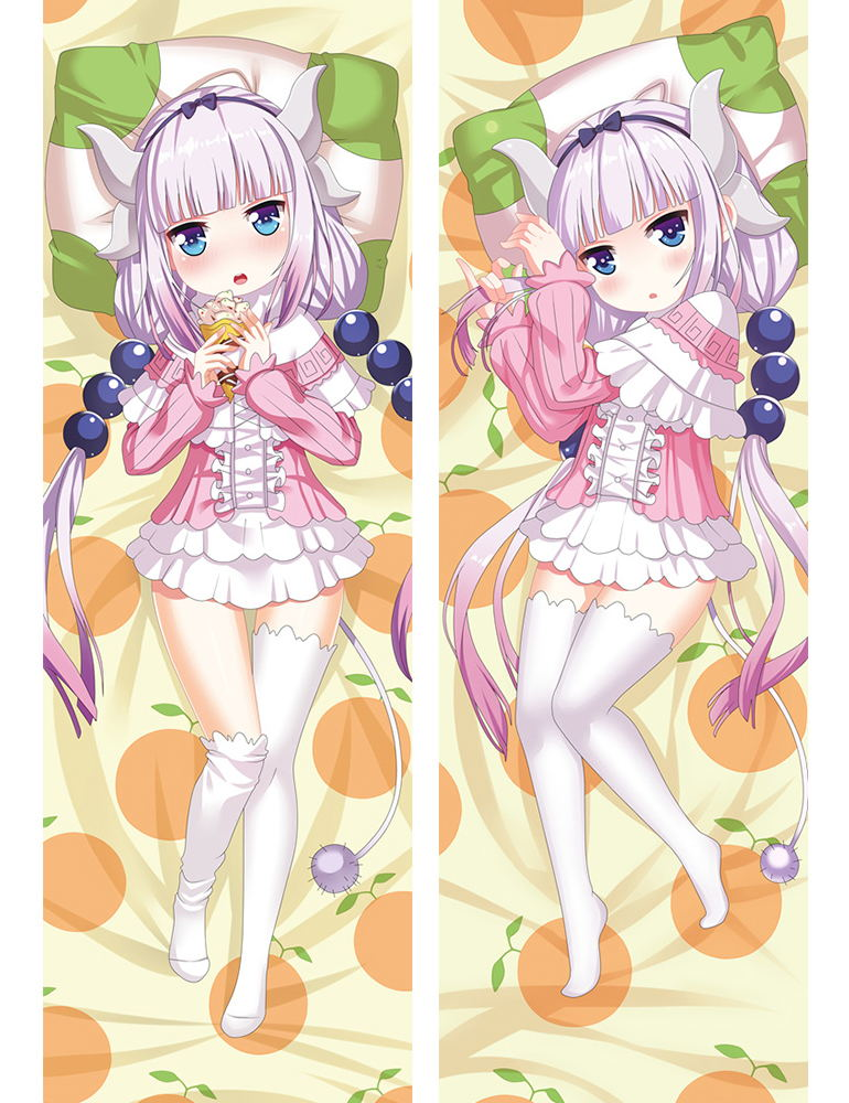 Anime   Japan  Pillow Case Hugging Body 150*50  Peach Skin  Miss Kobayashi's Dragon 73045