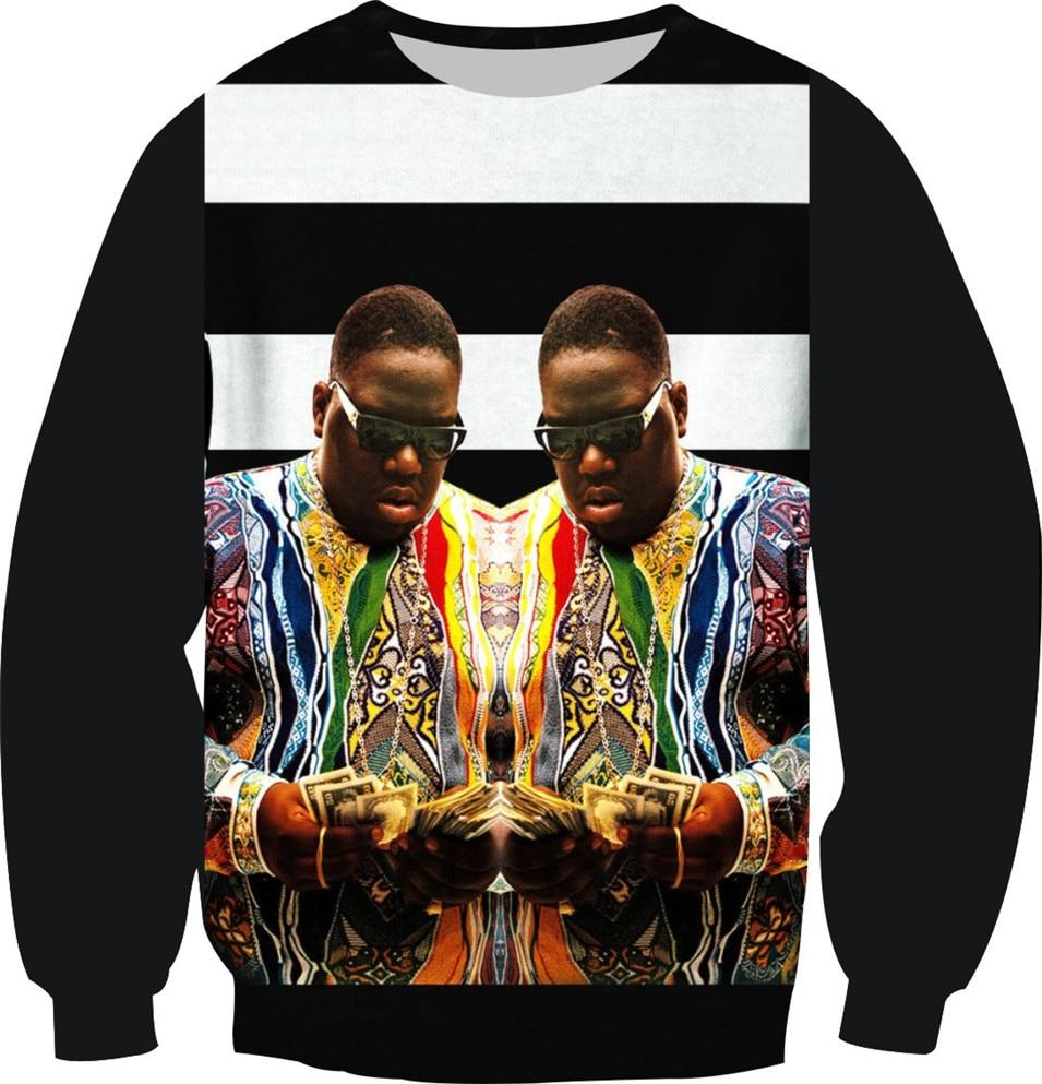 New Hip Hop 3D Sweatshirt Women Men Tupac-2Pac Galaxy Cat Mouse Tiger Design Hoodies Size XS-6XL Long Sleeve Fleece Warm Tops
