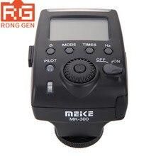 مايكه MK 300 البسيطة TTL على كاميرا فلاش Speedlite ضوء مع مصغرة USB واجهة لأوليمبوس E P5 باناسونيك GX7 لايكا كاميرات DSLR