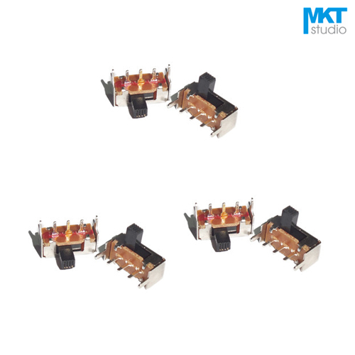 2 piezas en 2 posición de encendido//Doble Polo De Doble Tirar Interruptor L6 cn
