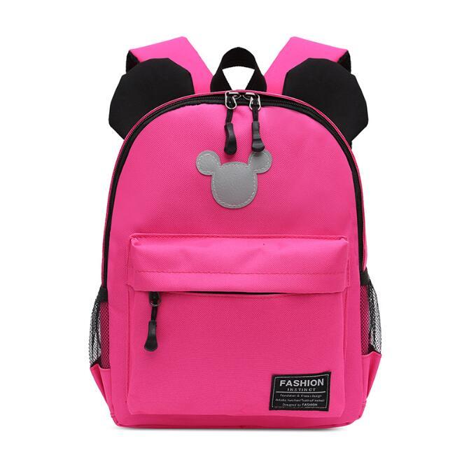 New Arrival Fashion Cute Kids School Bags Anti-lost Backpack Baby Toddler Book Bag Kindergarten Rucksacks Mochila Escolar