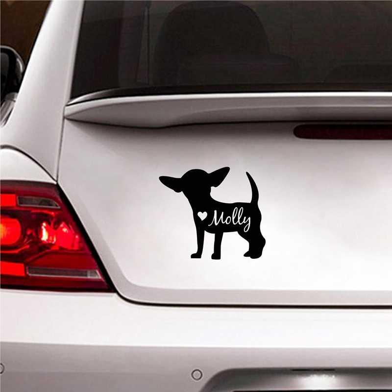 Maman d/'un Chihuahua decal autocollant de voiture drôle Handler Trainer dameuse obéissance Pet