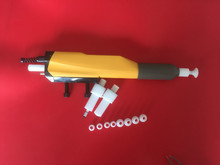 GM03 gema automatic powder coating spray gun+gema cascade+nozzle