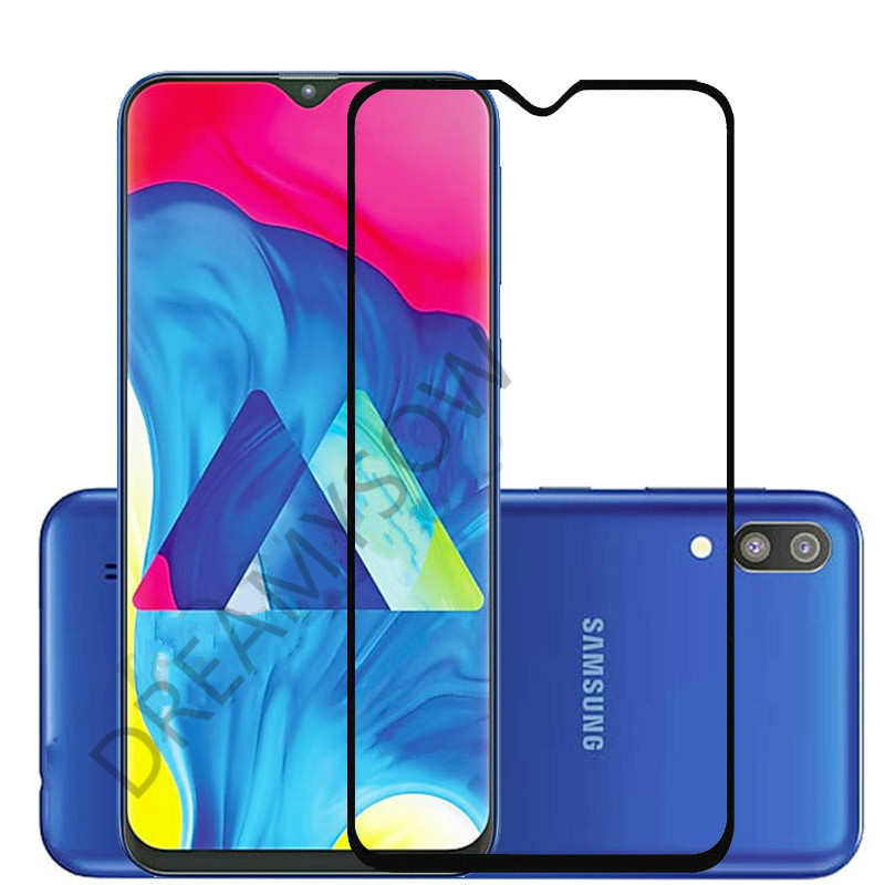 2PCS For Samsung A30 A50 J4 J6 Plus M10 M20 J415F J610F A750 Glass Case Tempered Glass For Samsung Galaxy A7 2018 Protect Film
