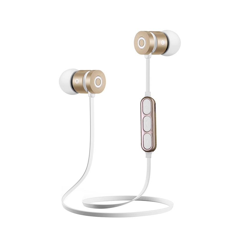 Magnetic HIFI Sport Bluetooth Headphone with Mic Wireless Headphones Earphones In Ear Auriculares Audifonos Handsfree Earphone 5