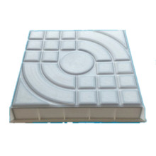 Cement Brick mould Spanish road board brick box pedestrian runway plastic paving mold DIY Garden Path Maker Concrete Molds