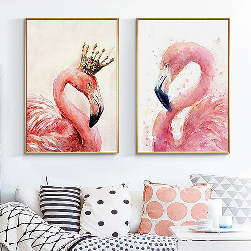 5D Diy Diamond Painting Cross Stitch Kits Animals Diamond Embroidery Flamingo Picture Of Rhinestone Full Drill Mosaic Pattern