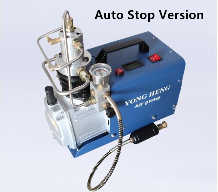 Auto Stop Pcp 300bar 4500psi Electric Air Pump High